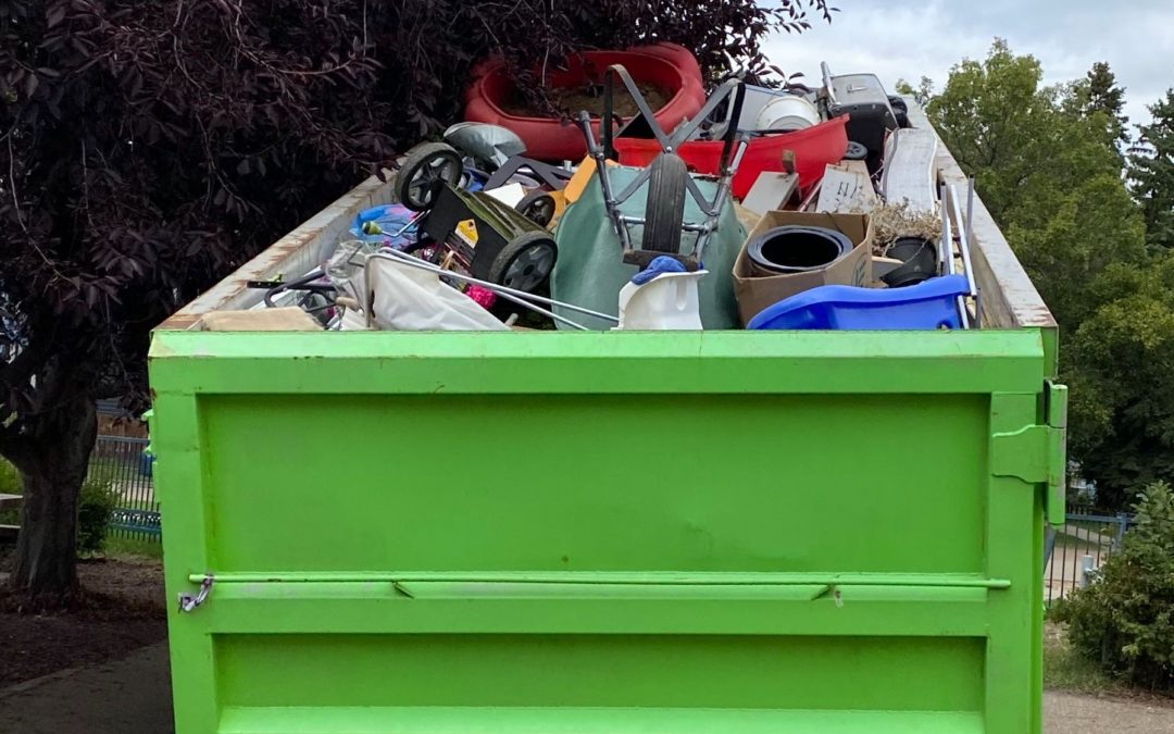 Big Bin Event gathers unwanted trash and other treasures