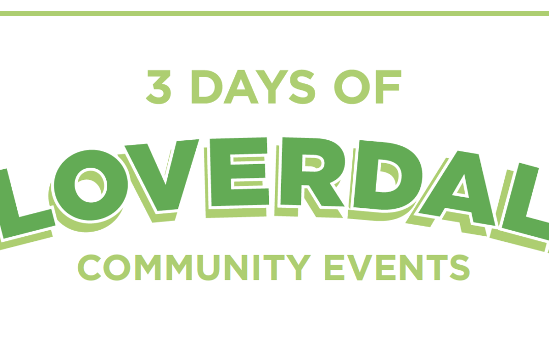3 Days of Cloverdale community events!